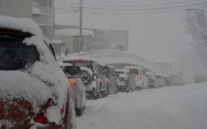 秋田市でも記録的大雪