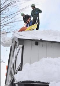 観測史上初の積雪2m超え